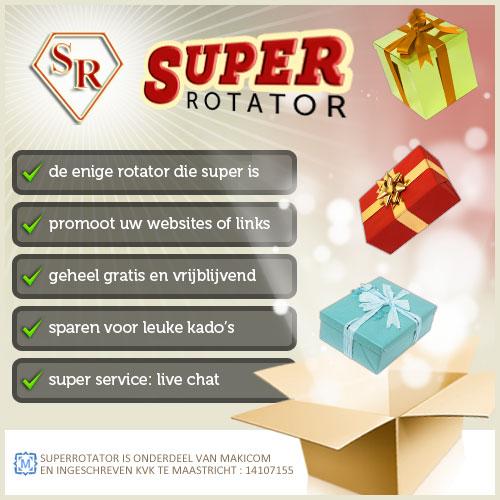 SuperRotator linkrotator spaarprogramma